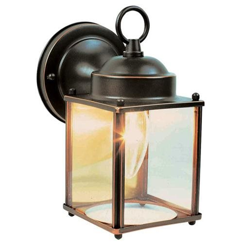 Coach Outdoor Downlight, 4.5-Inch by 8-Inch, Oil Rubbed Bronze