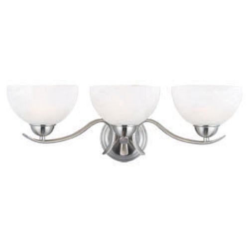 Trevie 3-Light Vanity Light, Satin Nickel