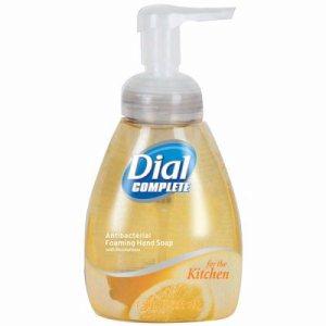 Dial Complete Antibacterial Foam Hand Soap, 7.5-oz Pump Bottles
