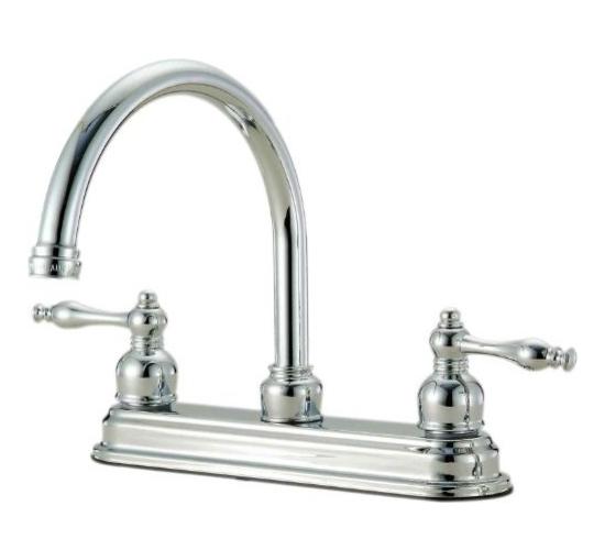12-4324 Chrome Kitchen Faucet