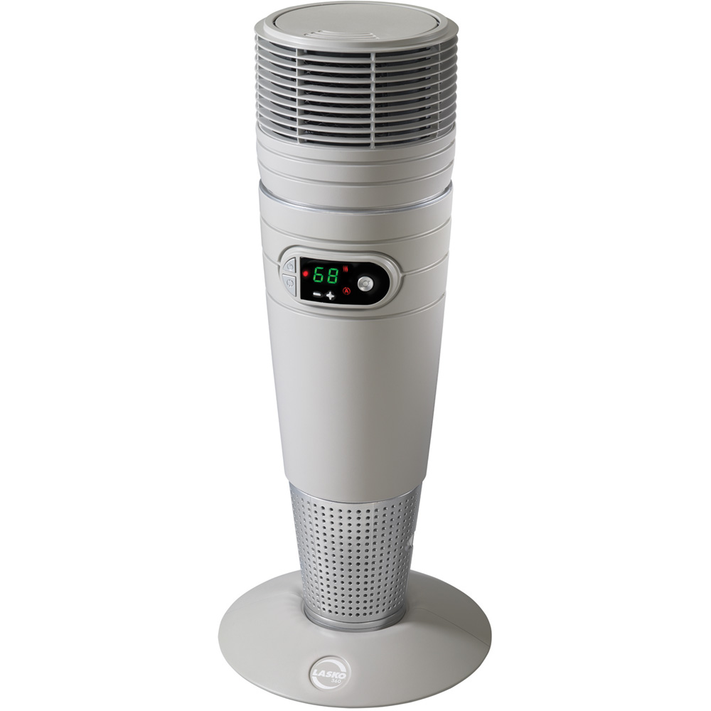 Full-Circle Warmth Ceramic Heater with Remote Control