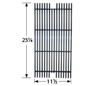 Porcelain steel wire cooking grid for Viking brand gas grills
