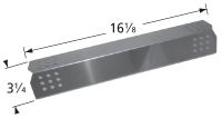 Stainless steel heat plate for Bakers & Chefs, Charbroil, Grand Cafe, Grand Hall, Members Mark brand gas grills