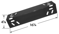 Porcelain steel heat plate for Kenmore, XPS brand gas grills