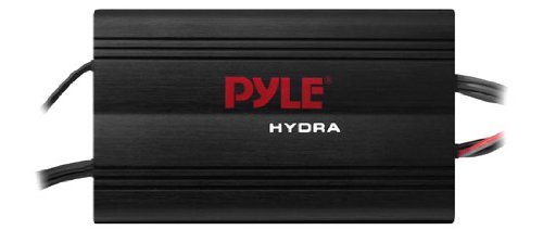 Pyle Marine 4CH MP3/IPod Marine Power Amp-Black ffinish