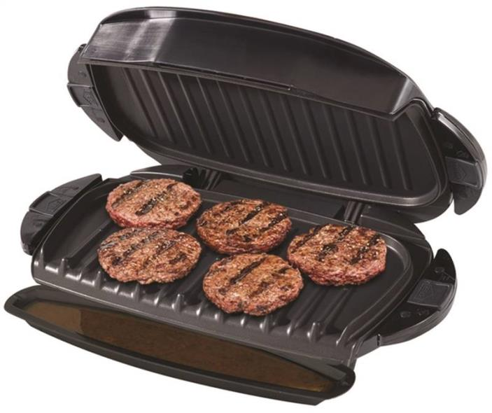 George Foreman Removable Plate Grill Black