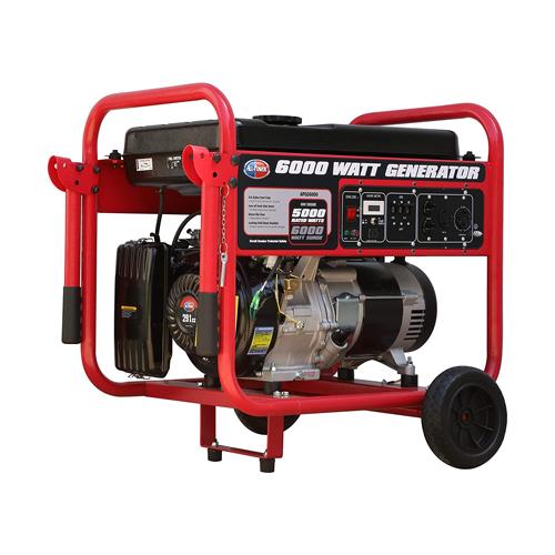 6000W Generator w/Mobility
