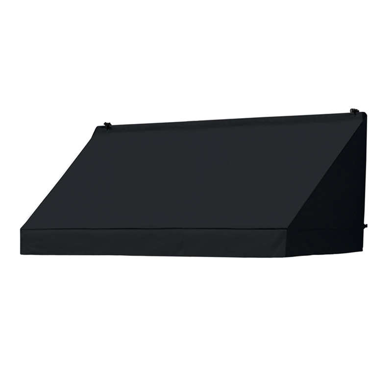 6' Traditional Awnings in a Box, Ebony