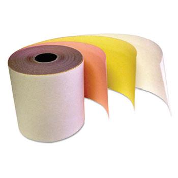 Carbonless Receipt Rolls, 3-Ply, 3