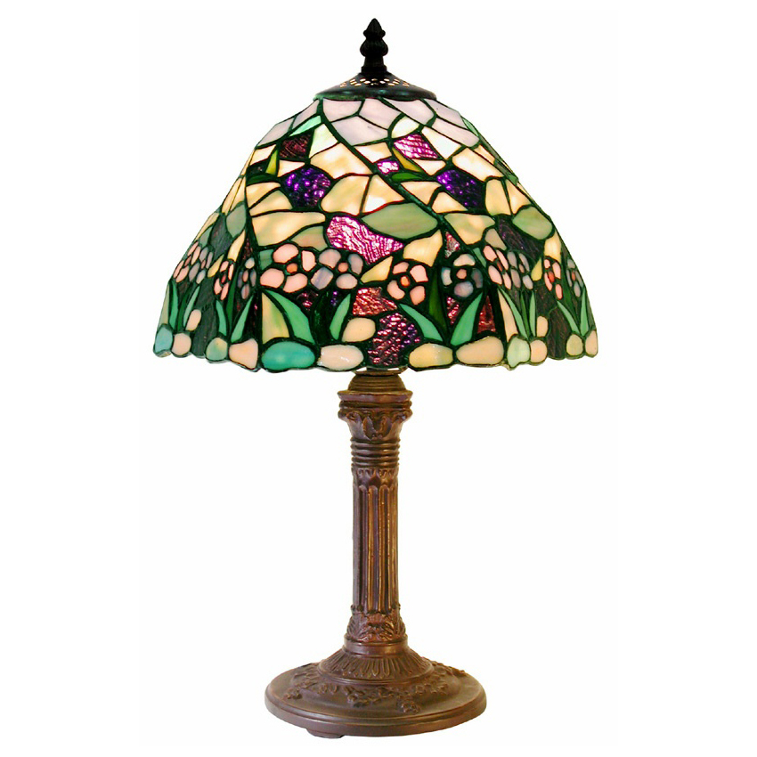 Tiffany-Style Lake Table Lamp