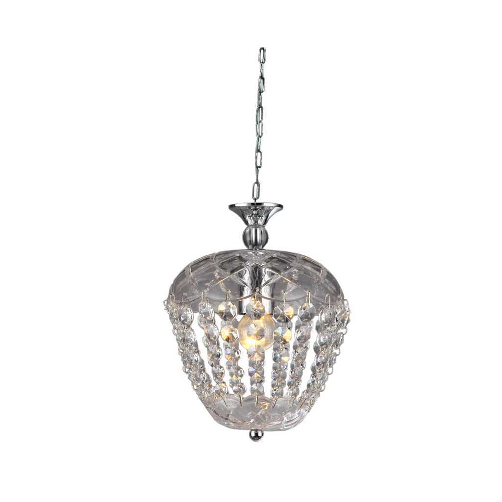 Adelaide Crystal-Chrome Chandelier