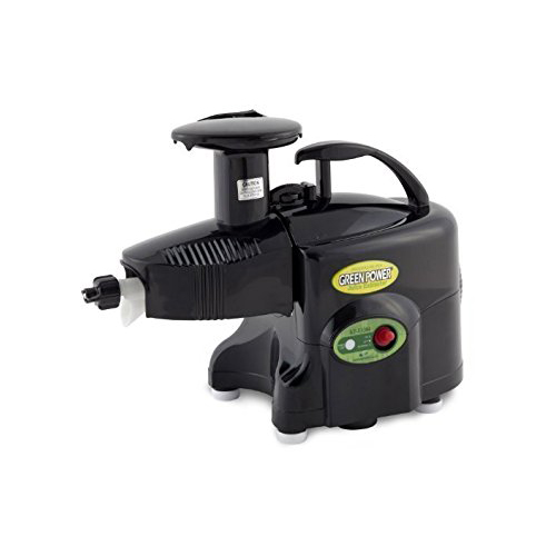 Green Power KPE1304 Twin Gear Juicer - Black